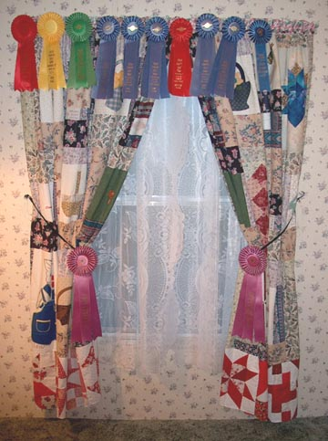 Crazy Patchwork Curtains
