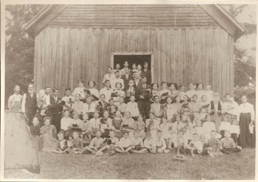 Friendship Church, Amity, Arkansas--date unknown