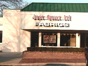 Just Quilt It!  New quilt store in town