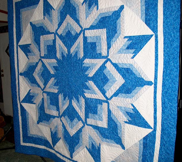 Quilting by Donna Titsworth, Inola, Oklahoma