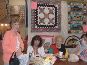 Quilters Enjoying Themselves
