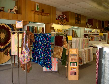 north wall