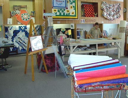 (now how many yards was I suppose to cut?)