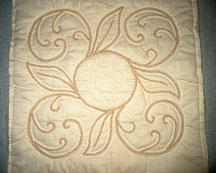 Twilling Pillow - Quilted